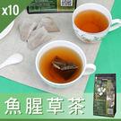【魚腥草茶】魚腥草茶/養生茶/養生飲-3角立體茶包-30包/袋-10袋/組-FishwortTea-10