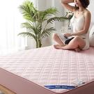 純色床墊保護套抗菌全棉加厚床套罩防滑固定防塵套席夢思全包床笠 雙十二購物節