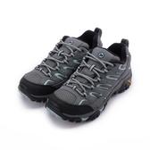 MERRELL MOAB 2 GORE-TEX 防水登山鞋 灰/淺藍 ML06036W 女鞋
