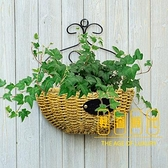 壁掛花盆吊蘭墻壁 墻上懸掛式 吊籃綠蘿掛壁花盤【輕奢時代】
