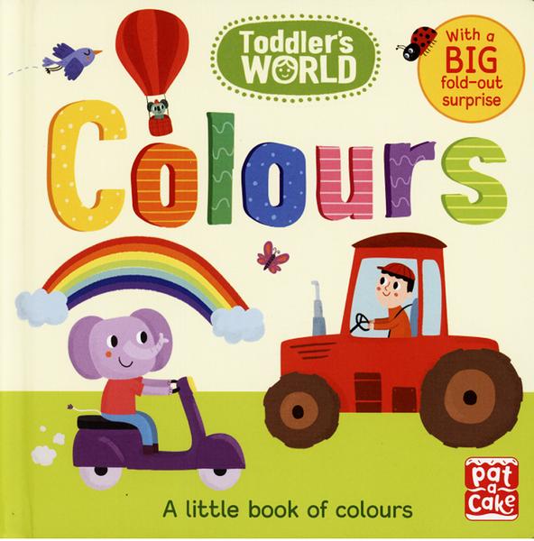 【幼兒認知書--顏色】TODDLER'S WORLD : COLOURS  /硬頁書