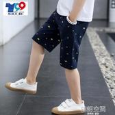 男童短褲2020新款中大童五分褲子 休閒外穿夏季兒童裝薄款帥氣