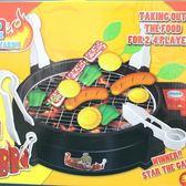 電動烤肉組 BBQ競技 烤肉遊戲組 FDE905 (附電池)/一盒入[#400] 烤肉玩具 扮家家酒烤肉爐