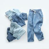 牛仔褲男童牛仔長褲子防蚊褲夏裝春秋童裝兒童寶寶小童薄款打底褲潮嬰兒 新品