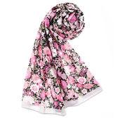 renoma paris和風花語薄圍巾(桃紅色)989063-157