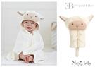 【美國Elegant Baby】動物造型連帽浴巾- 小羊 79584