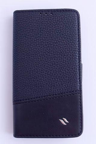 Redberry New HTC One (X810e) 專用側掀式 皮套/保護殼/保護蓋/保護套/外殼 黑色