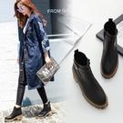 粗跟短靴-歐美經典復古厚底女馬丁靴73is11【時尚巴黎】