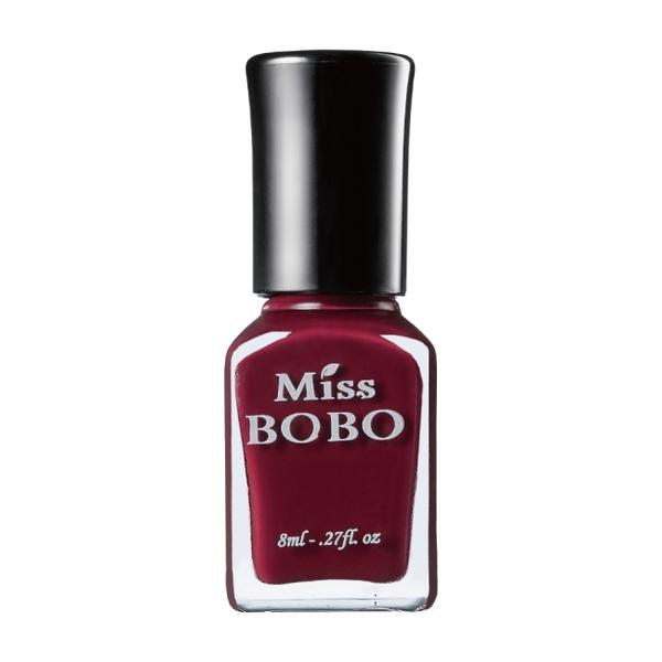 Miss BOBO水性可剝持色指彩 波特酒紅