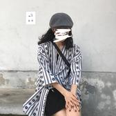 和服外套 東日是個卷毛 日系復古雪紡和服防曬衫古著感和風外套上衣女夏季