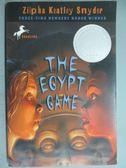 【書寶二手書T9/原文小說_GMQ】The Egypt Game_Snyder, Zilpha Keatley