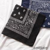 小方巾女發帶裝飾小絲巾