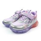 《FILA》兒童 電燈運動鞋 紫紅 7-...
