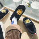 棉鞋男冬季保暖加絨加厚韓版百搭學生居家個性室內包跟情侶棉拖鞋