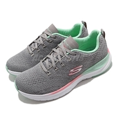 Skechers 休閒鞋 Ultra Groove-Pure Vision 灰 彩色 女鞋 健走 運動鞋 【ACS】 149022GYMT