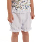 【愛的世界】純棉鬆緊帶鳶尾花直條紋短褲/4~6歲-台灣製-  - ---春夏下著 夏出清