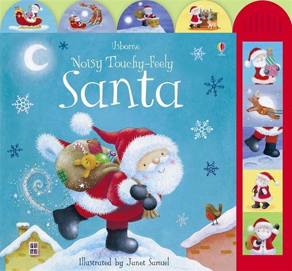 Noisy Touchy-Feely Santa 聖誕老公公的一天 硬頁有聲書