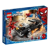 76173【LEGO 樂高積木】超級英雄系列 - SpiderMan and Ghost Rider vs. Carnage