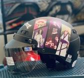 卡通安全帽,CA110,航海王#2/消光黑,附抗UV-PC安全鏡片