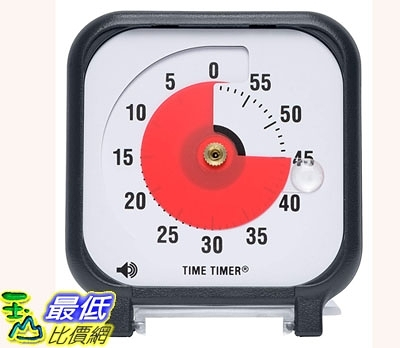 [7美國直購] Time Timer 磁吸式 3吋 定時器Original 3 Inch; 60 Minute Visual Timer Classroom Or Meeting