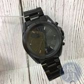 BRAND楓月 MICHAEL KORS MK5550 質感黑色 三眼 大錶徑 男仕腕錶