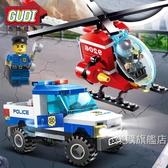組裝積木兼容積木兒童益智拼裝飛機城市系列警車3男孩5汽車玩具4周歲6