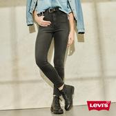 Levis 710 中腰超緊身窄管 / 超彈力牛仔長褲 / 側邊鉚釘