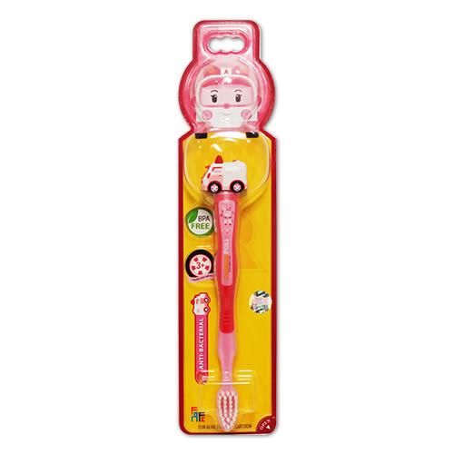 POLI 波力立體兒童牙刷-安寶AMBER 3歲以上適用[ 衛立兒生活館]
