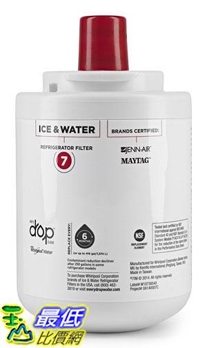[美國直購] Whirlpool EDR7D1 Ice and Refrigerator Water Filter 7 (新款取代UKF7003) 冰箱濾心