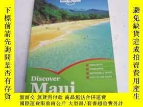 二手書博民逛書店英文原版《lonely罕見plonet Discover Maui 》毛伊島 英文原版孤獨星球旅遊指南Y262
