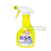 〔小禮堂〕MITSUEI 日製橘子浴室除菌清潔噴劑《黃》容量約400ml 4978951 05026