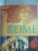 【書寶二手書T1/歷史_ZEF】Ancient Rome_Hill, Duncan