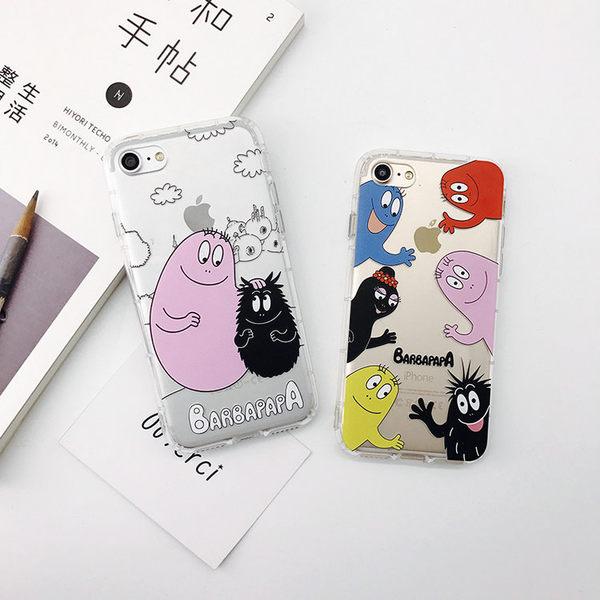 【SZ15】iPhone 7/8 plus手機殼泡泡巴巴浮雕殼 6s手機殼 iPhone 7/8 手機殼 i6 plus手機殼