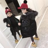 女童棉衣新款韓版冬季金絲絨棉