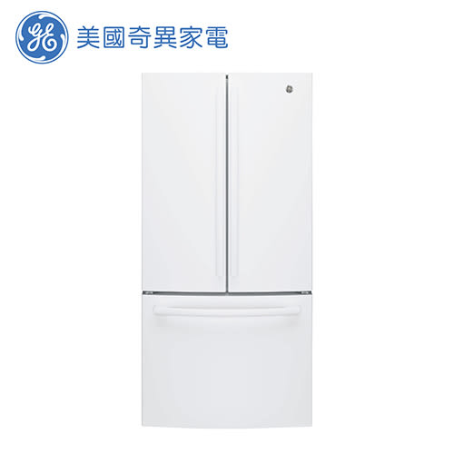 [GE 美國奇異家電]715公升白色法式三門冰箱 GNE25JGWW