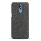 手機殼 適用LG K40手機殼輕薄布藝lgk40防摔保護套簡約手機套織物外殼