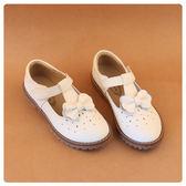 女童鞋牛筋底防滑女童皮鞋真皮小女孩公主鞋 秋季新款兒童單鞋【卡米優品】