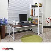 【RICHOME】DE214《萊斯高低兩用多功能桌-2色》工作桌  電腦桌    書桌   寫字桌