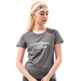 【Takaka】女 山脈印花彈性T恤『淺灰』M62923 居家 休閒 上衣 短袖 夏季 印花 T恤