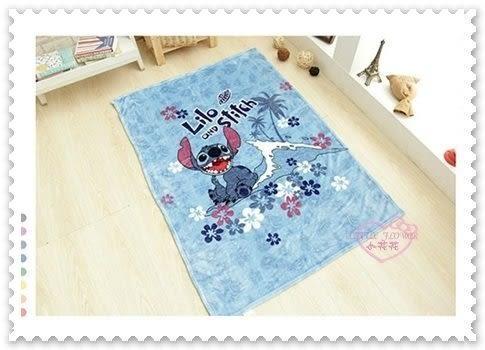 ♥小花花日本精品♥Hello Kitty 星際寶貝 史迪奇 毯子 冷氣毯 超柔刷毛毯 附束口袋 12337101