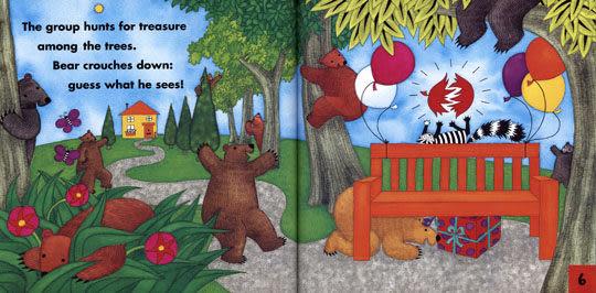 【麥克書店】BEAR'S BIRTHDAY /英文繪本附CD《生活認知》