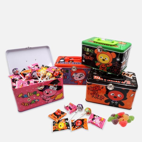 WHY AND 1/2 萬聖節手提糖果盒 多色可選