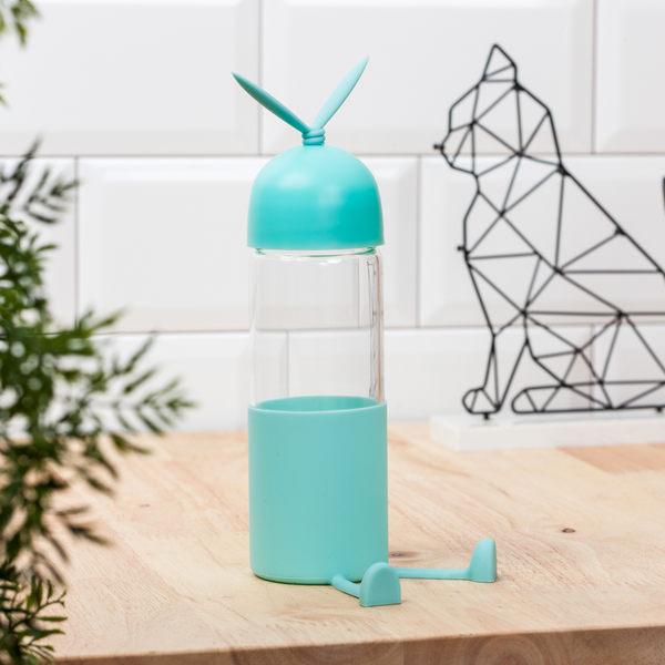 長腿兔玻璃水瓶300ml