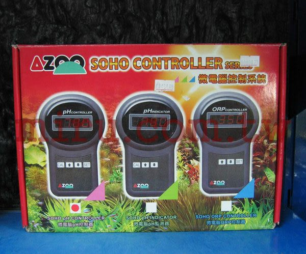 【西高地水族坊】AZOO SOHO微電腦酸鹼值PH控制器