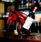 馬到成功家居創意擺件酒櫃紅酒架子葡萄酒架個性客廳家飾風水擺件