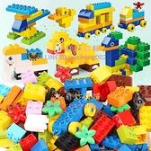 積木桌子玩具兒童大顆粒兼容樂高積木軌滑道樂高拼裝益智力男女孩【奇妙商舖】