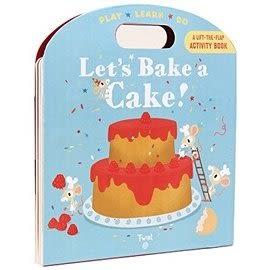 【小小孩的烹飪書】LETS BAKE A CAKE /操作書