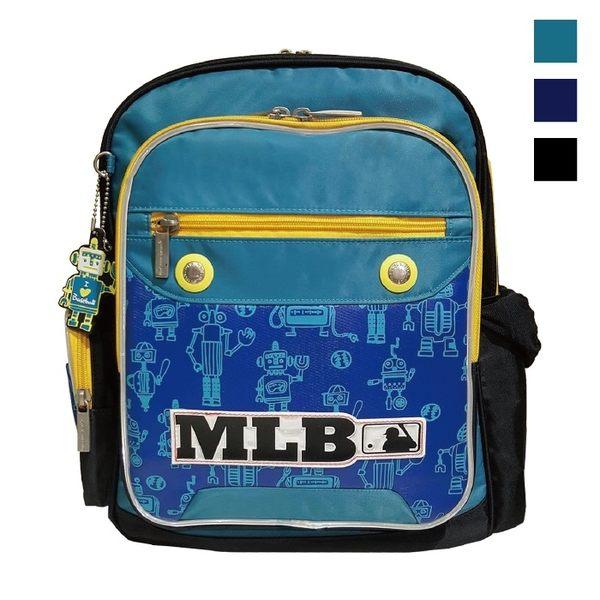 Backbager 背包族【MLB 美國大聯盟 洋基】 機器人 上課 開學用品/書包/後背書包 藍/黑/綠