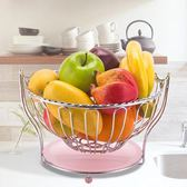 創意水果籃果盤客廳瀝水家用零食桌面收納置物架家居用品送禮佳品