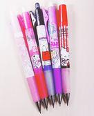 美樂蒂史努比雙子星愛莉絲自動鉛筆387031通販屋